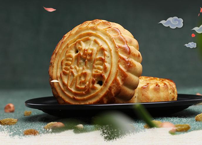 山西胡麻油月饼:散装多